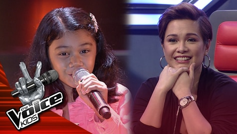 """Blind Auditions: Vera Jagape  impresses Coach Lea with her """"The Greatest Love All"""" performance 