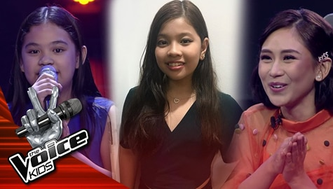 The Voice Kids Philippines 2019: Coach Sarah, naalala si Elha kay Riss Image Thumbnail