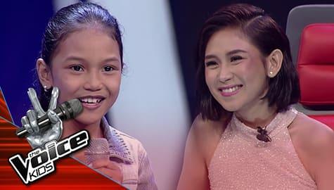 The Voice Kids Philippines 2019: Jen-jen, pinili na mapasama sa Team Sarah Image Thumbnail