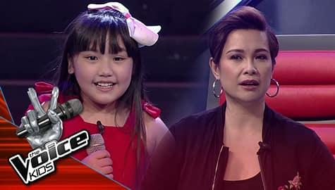 The Voice Kids Philippines 2019: Voice Coaches, pinayuhan sa pagkanta si Xyrene Image Thumbnail