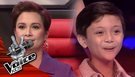 The Voice Kids Philippines 2019: Coach Lea, pinili si Ian na tumuloy sa kompetisyon Image Thumbnail