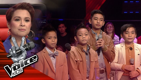 "The Battles: Roem, Daniel, Radhni and Francis perform Quest's ""Walang Hanggan"" | The Voice Kids Philippines 2019  Image Thumbnail"