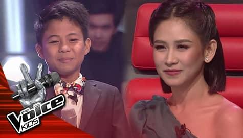 The Voice Kids Philippines 2019: Coach Sarah, pinili na tumuloy sa kompetisyon si Vanjoss Image Thumbnail