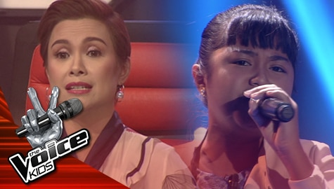 """The Sing Off: Adah Leosala belts out Jennifer Hudson's """"I Am Changing""""   The Voice Kids Philippines 2019 Image Thumbnail"""