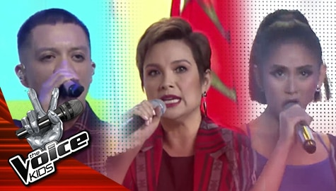 The Semi-finals: Lea, Bamboo and Sarah perform Pinoy folk songs with Top 9 Young Artists | The Voice Kids Philippines 2019 Image Thumbnail