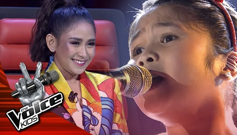 "The Semi-finals: Yshara Cepeda fascinates Coaches with her ""Wind Beneath My Wings"" performance 