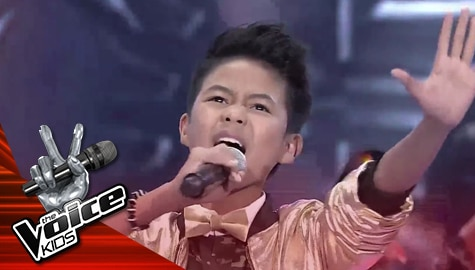 "The Finals: Vanjoss Bayaban sings David Guetta's ""Titanium"" - The Voice Kids Philippines 2019  Image Thumbnail"