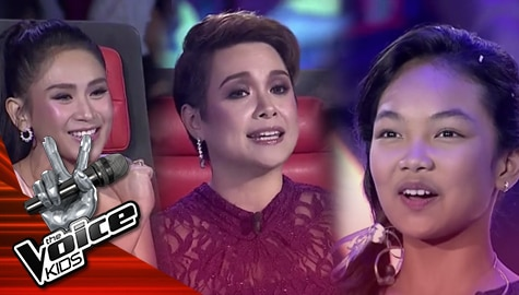 The Finals: Coach Lea and Sarah, pinuri ang talento ni Carmelle The Voice Kids Philippines 2019  Image Thumbnail