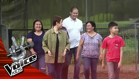 The Finals: Meet Cyd Pangca's Family The Voice Kids Philippines 2019  Image Thumbnail