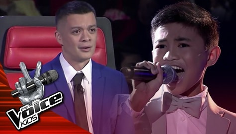 """The Finals: Cyd Pangca amazes everyone with his """"This Is The Moment"""" performance - The Voice Kids Philippines 2019  Image Thumbnail"""