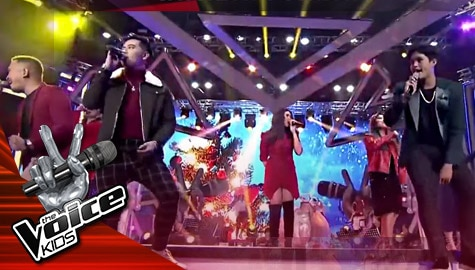 "The Finals: ""Christmas Medley"" by The Voice Singers - The Voice Kids Philippines 2019 Image Thumbnail"