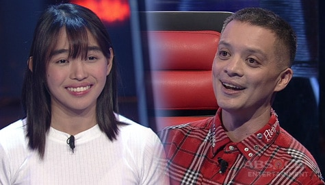 "Blind Auditions: AJ Yape fascinates Coaches with her ""Top Of The World"" performance 