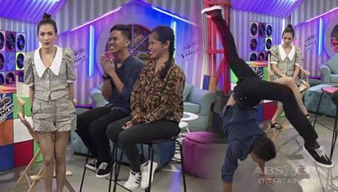 WATCH: Alex, di nagpahuli sa cartwheel ni Jay | The Voice Teens 2020 Image Thumbnail