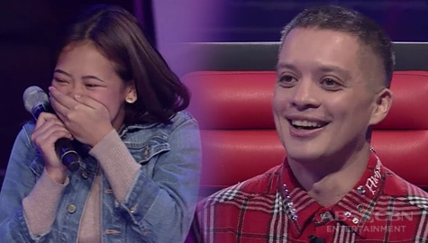 WATCH: Yang-Yang, kinilig sa kapogian ni Coach Bamboo | The Voice Teens 2020 Image Thumbnail