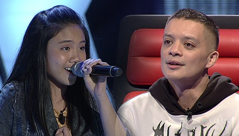 "Blind Auditions: Claire Siggaoat stuns Coaches with her impressive ""Rise Up"" cover 