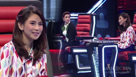WATCH: Coach Lea to Coach Sarah: Ang sarap ma-in love! | The Voice Teens 2020 Image Thumbnail