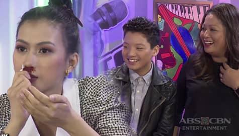WATCH: Alex, dumugo ang ilong habang kausap si Tyson | The Voice Teens 2020 Image Thumbnail