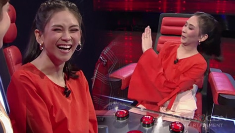 WATCH: Coach Sarah shows off her beautiful diamond ring  | The Voice Teens 2020 Image Thumbnail