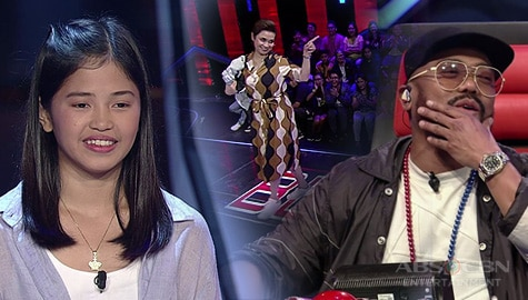 WATCH: Coach Lea blocks Coach APL for Alexia | The Voice Teens 2020
