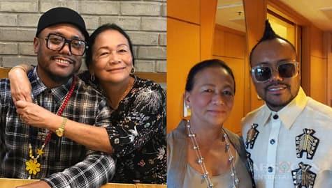 Coach Apl.de.ap with his lovable Mother