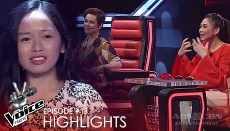 WATCH: Voice Coaches, pinayuhan ang pagkanta ni Shaira | The Voice Teens 2020 Image Thumbnail