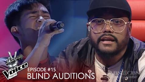 "Blind Auditions: Ken Sarip performs ""Kung Maibabalik Ko Lang"" performance | The Voice Teens 2020 Image Thumbnail"