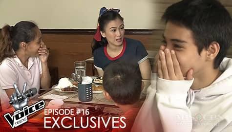 Alex, ipinaabot ang magandang balita kay Andre | The Voice Teens 2020 Image Thumbnail
