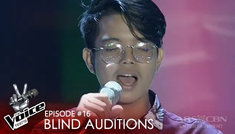 "Blind Auditions: Kyon Tabuena performs ""Hinahanap-Hanap Kita"" performance 