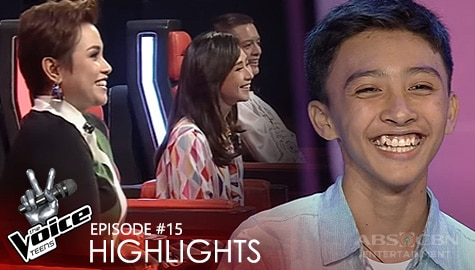 Voice Coaches, pinayuhan ang pagkanta ni Vincent | The Voice Teens 2020