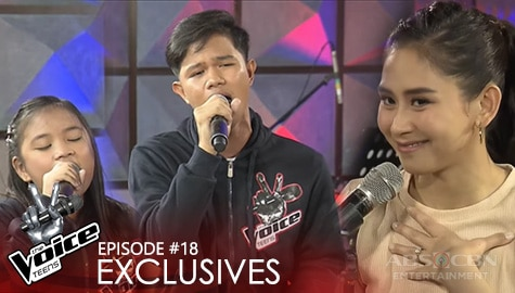 Battle Rehearsal: Jaylloyd Garche vs Kate Campo | The Voice Teens 2020 Image Thumbnail