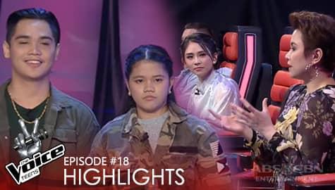 Voice Coaches, natuwa sa laban nina Jelo at CZ | The Voice Teens 2020 Image Thumbnail
