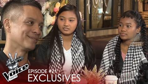 Coach Bamboo, pinayuhan ang pagkanta nina Dani at Cha | The Voice Teens 2020 Image Thumbnail