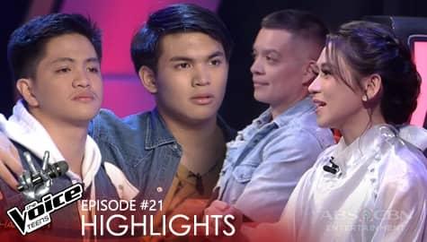 Voice Coaches, bumilib sa performance nina JP at Ken | The Voice Teens 2020 Image Thumbnail