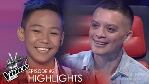 Coach Bamboo, pinili si Rock na tumuloy sa kompetisyon | The Voice Teens 2020 Image Thumbnail