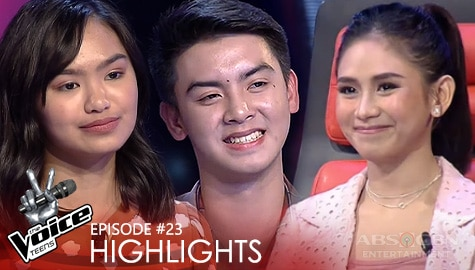Coach Sarah, ginawan ng loveteam sina Kendra at Jason | The Voice Teens 2020 Image Thumbnail