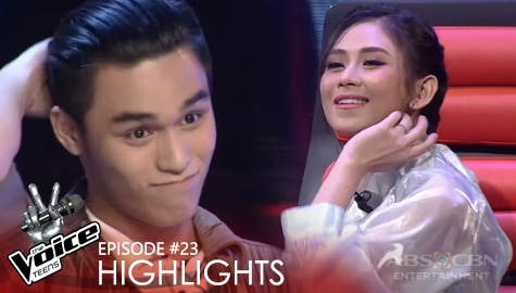Coach Sarah, may nakakatuwang hirit sa performance ni Drei | The Voice Teens 2020 Image Thumbnail