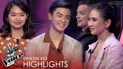 Voice Coaches, bumilib sa performance nina Kendra at Jason | The Voice Teens 2020 Image Thumbnail
