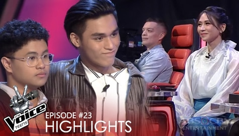 Voice Coaches, humanga sa performance nina Matt at Drei | The Voice Teens 2020 Image Thumbnail
