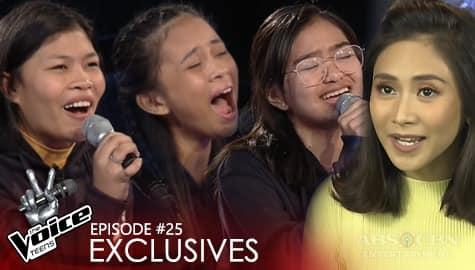 Team Sarah Knockout Rehearsal: Hobe vs Eunice vs Kendra | The Voice Teens 2020 Image Thumbnail