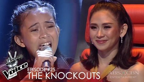 "The Knockouts: Hobe Rementizo performs ""Say Something"" 