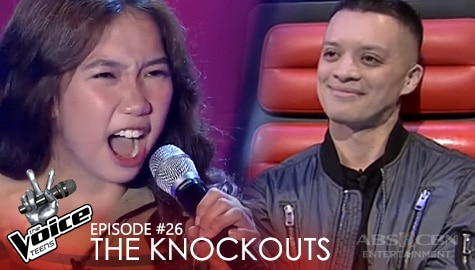 "The Knockouts: Aly Fabellar performs ""Banal na Aso, Santong Kabayo"" 