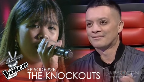 "The Knockouts: Heart Salvador performs ""Skinny Love"" 