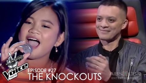 """The Knockouts: Kate Campo performs """"Chasing Pavements"""" 