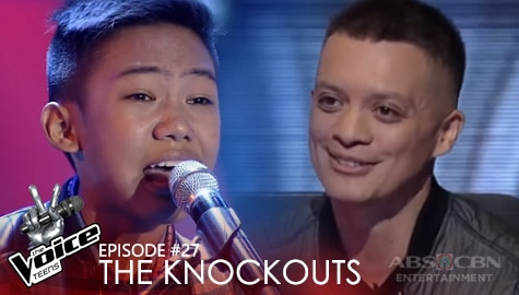 """The Knockouts: Rock Opong performs """"Dancing On My Own"""" 