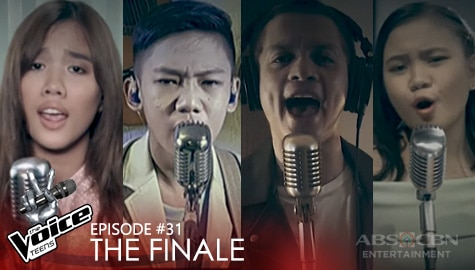 "The Finale: Coach Bamboo and Top 3 perform a soulful rendition of ""Aint No Sunshine"" 
