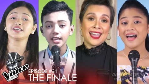 "The Finale: Coach Lea and Top 3 wow everyone with show-stopping ""Lean On Me"" performance 