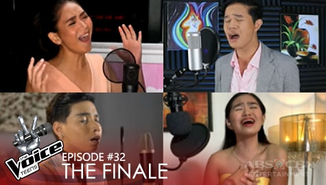 """The Finale: Coach Sarah and Top 3 perform a heartfelt performance of """"Kung 'Di Rin Lang Ikaw"""" 