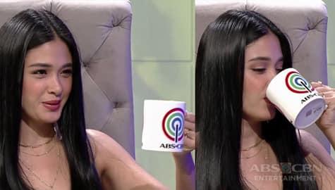 TWBA: Yam, uminom ng beer bago simulan ang kanyang hot seat interview with Tito Boy Image Thumbnail