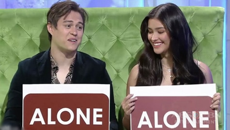 Alone or Together? TWBA Fast Talk with Liza Soberano and Enrique Gil Image Thumbnail
