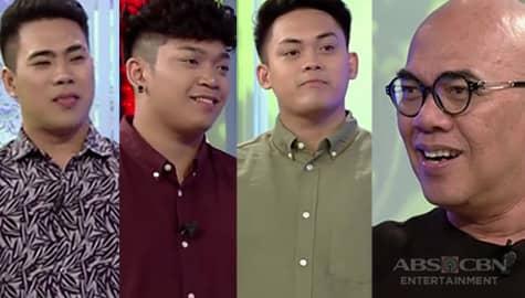 """TWBA: Tito Boy, kinilala ang grupong nagpasikat ng awiting """"Dalaga"""" Image Thumbnail"""